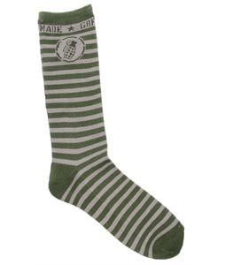 Grenade The Escape Socks Olive