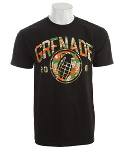 Grenade Tiger Camo T-Shirt Black