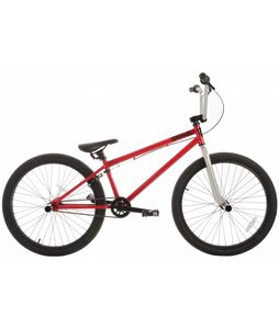Grenade B12 BMX Bike Ruby Red/Silver 24in