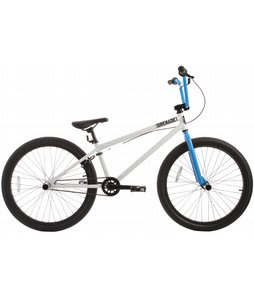 Grenade B12 BMX Bike Whiteout/Smurf Blue 24in