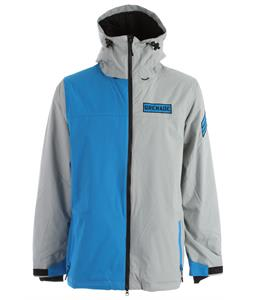 Grenade Tracker Snowboard Jacket Gray/Blue
