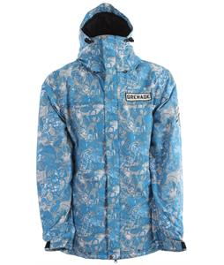 Grenade Tragedy Snowboard Jacket Blue