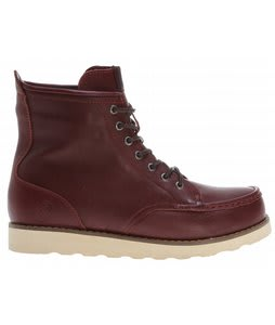 Grenade Urban Trekker Leather Boots Burgundy