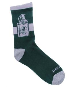 Grenade Tucked Socks Teal