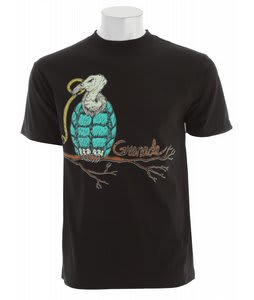 Grenade Vulture Bomb T-Shirt Black