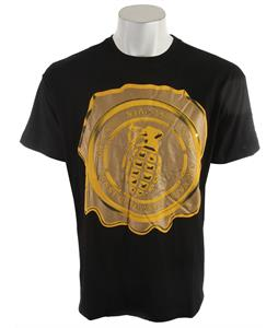 Grenade Wax T-Shirt Black