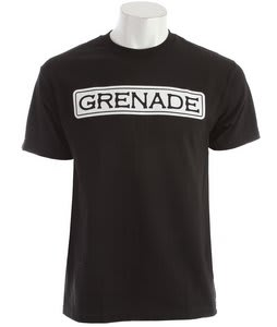 Grenade We Want You T-Shirt Black