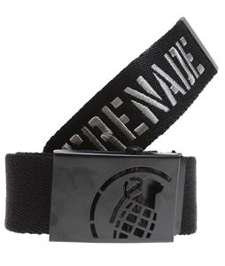 Grenade Web Belt Gray