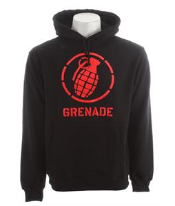 Grenade Wordmark Stenz Hoodie Black