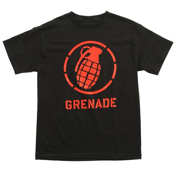 Grenade Wordmark Stenz T-Shirt