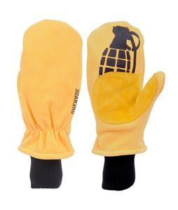 Grenade Work Mittens Yellow