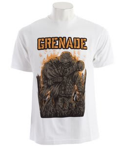 Grenade Wounded Soldier T-Shirt White