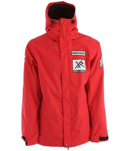 Grenade Young & Reckless Snowboard Jacket Red