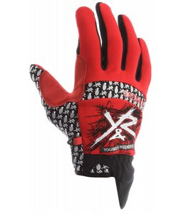 Grenade Young & Reckless Gloves Red