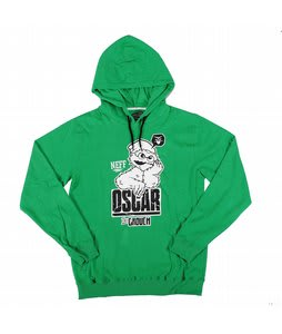 Neff Grouch Hood Hoodie Green