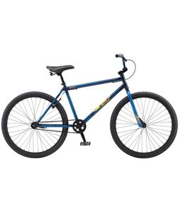 GT 650 BMX Bike Trans Blue 650B/23in Top Tube