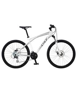 GT Aggressor 1.0 (Mech) Bike Gloss White 19in (L)