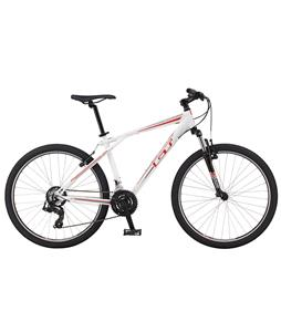GT Aggressor 3.0 Bike Gloss White 17.5in (M)