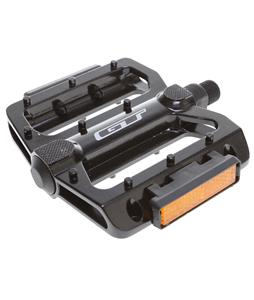 GT Alloy BMX Pedals Black 9/16in