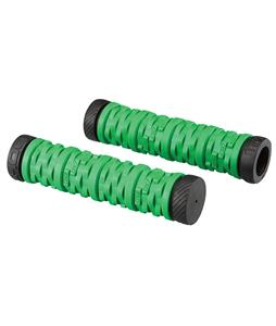 GT DOHC Dual Slip-On BMX Grips Green/Black 140mm