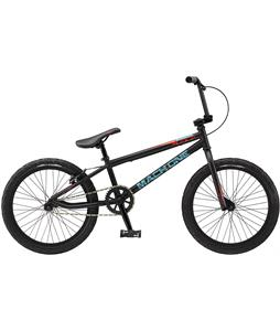 GT Mach One Pro BMX Bike Matte Black 20in/20in Top Tube