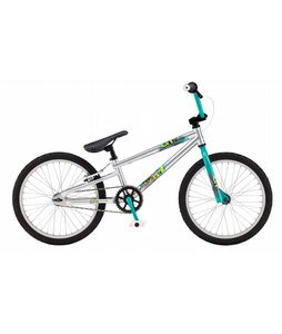 GT Mach One Expert CB BMX Bike Silver 20in