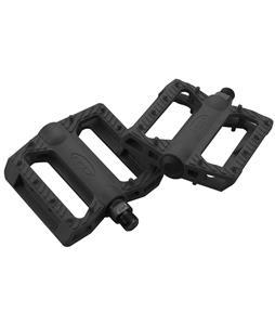 GT Nylon BMX Pedals Black 9/16in