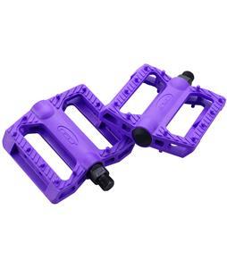 GT Nylon BMX Pedals Purple 9/16in