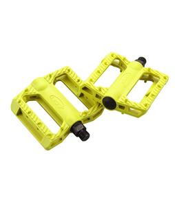 GT Nylon BMX Pedals Yellow 9/16in