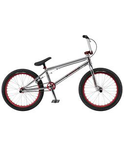 GT Performer BMX Bike Chrome/Red 20in