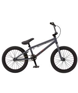 GT Performer 18 BMX Bike Gtghini Gloss Dark Grey 18in/18in Top Tube