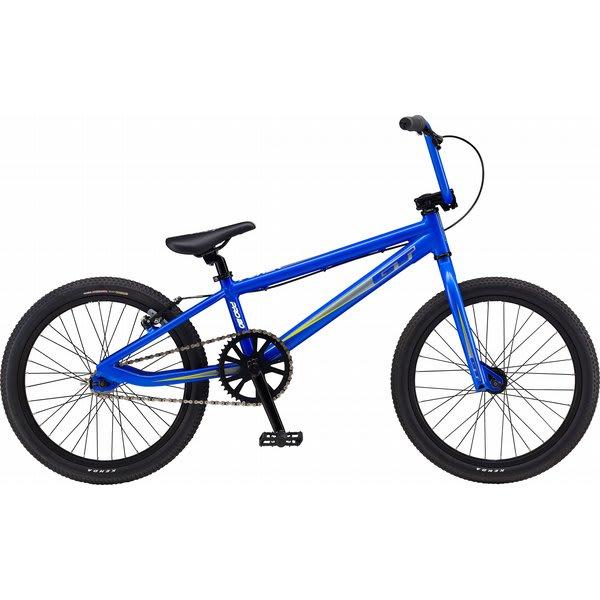 gt power series pro bmx bike satin blue 20 ebay. Black Bedroom Furniture Sets. Home Design Ideas
