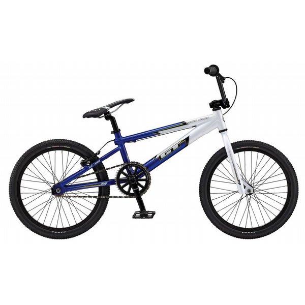 gt power series xl bmx race bike white blue 20 ebay. Black Bedroom Furniture Sets. Home Design Ideas