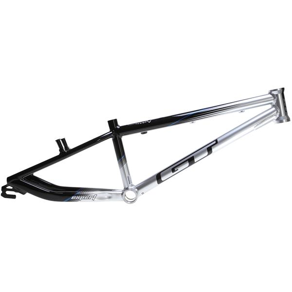 GT Pro Series Expert BMX Frame Black/Silver 19.25in Top Tube