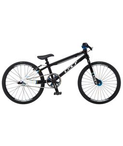 GT Pro Series Micro 18 BMX Bike Black/White 18in/16.5in Top Tube