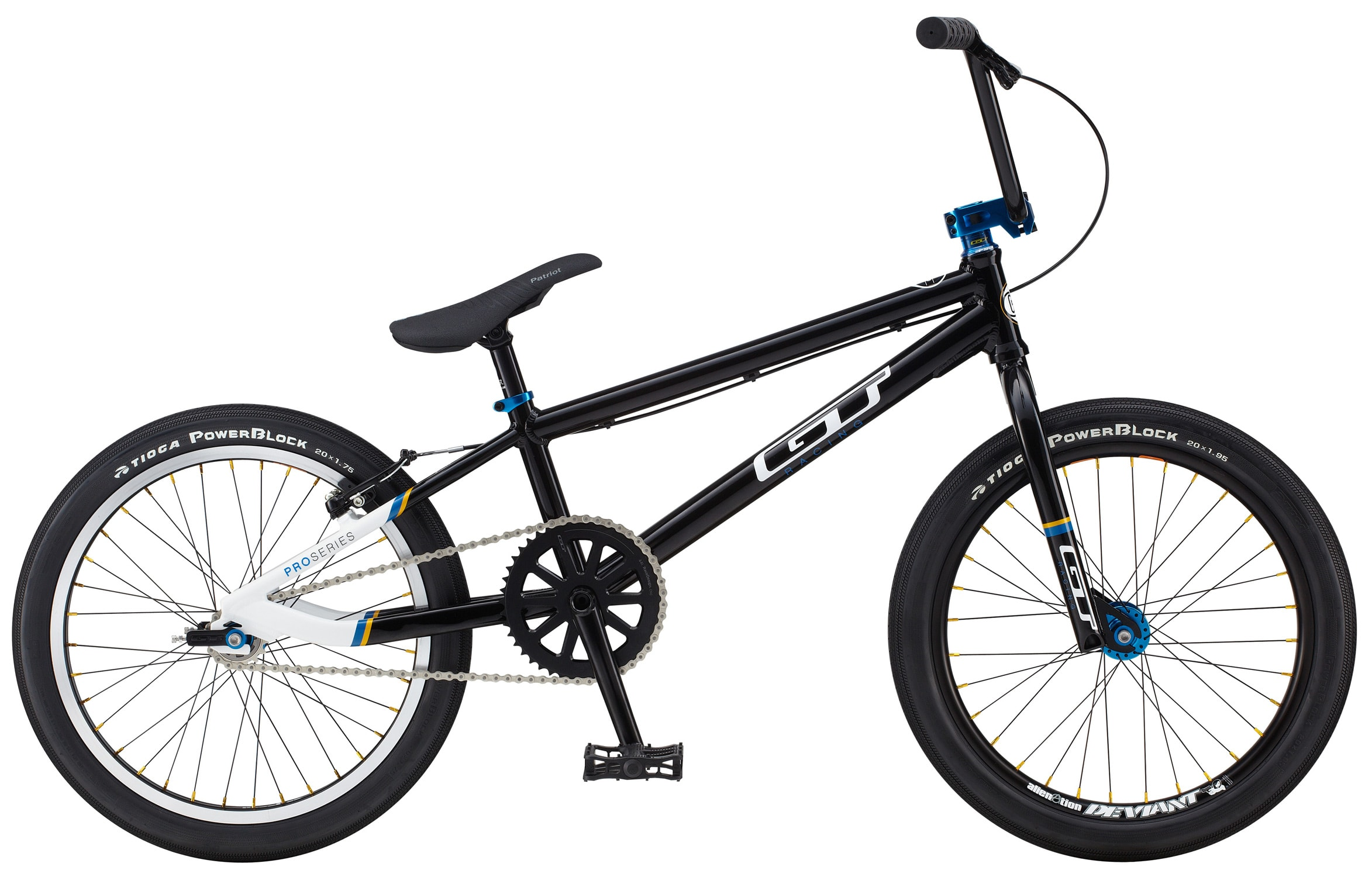 Race Bmx Store Gt Proseries Proxl Bmx Bike Blkwht In