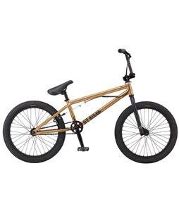 GT Slammer BMX Bike Gloss Gold 20in/20in Top Tube
