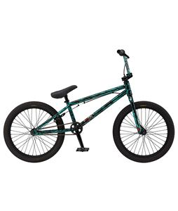 GT Slammer BMX Bike Gloss Turquoise Laser 20in/20in Top Tube