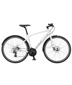 GT Traffic 1.0 Bike Gloss White 47.5cm (M)