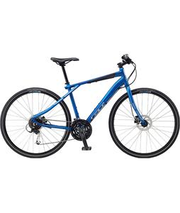 GT Traffic 2.0 Bike Matte Blue 18.75in (M)
