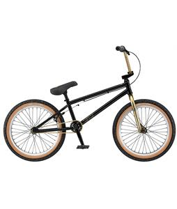 GT Wise BMX Bike Gloss Goldproof Black/Trans Gold 20in/20.25in Top Tube