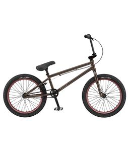 GT Wise Signature BMX Bike Trans Matte Black 20in/21.25in Top Tube