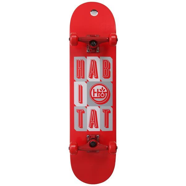 Habitat Headline Stacked SM Skateboard Complete