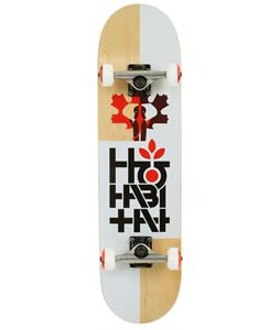 Habitat Pachyderm Skateboard Complete White