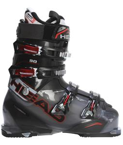 Head Adaptedge 90 Ski Boots Transparent Black/Red