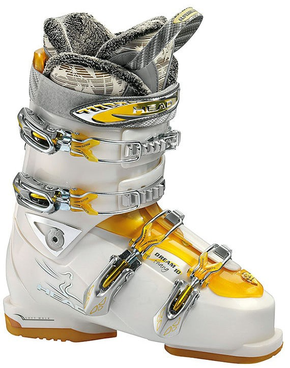 Shop for Head Dream Thang 10 Superheat 3 Ski Boots Pearl/Tr Gold - Women's