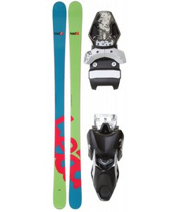 Head GP 84 Skis w/ Mojo 12 Wide Bindings Black/Silver 88mm