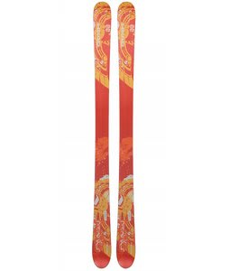 Head Monster iM 88 SW Skis Red/Orange