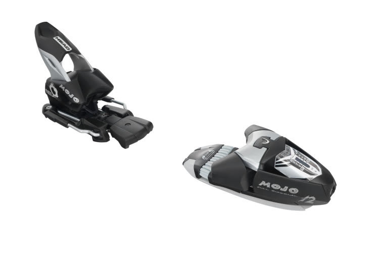 Head Mojo 12 Wide Ski Bindings Matt Black/Silver