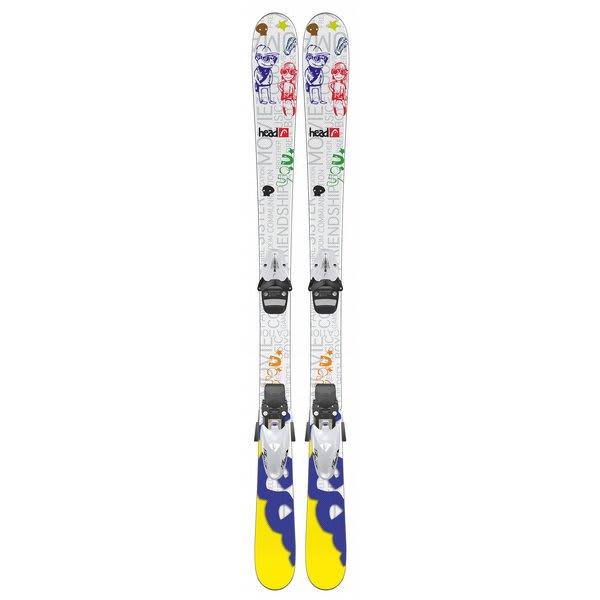Head Mojo Jr Skis w/ SL 75 Bindings
